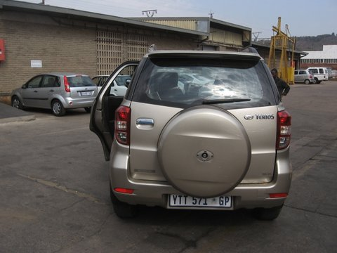 DAIHATSU TERIOS  STRIPPING FOR PARTS  – Durban Used Spares