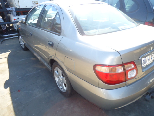 NISSAN ALMERA. STRIPPING FOR PARTS. – Durban Used Spares